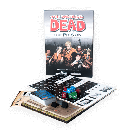 Walking Dead Custom Board Game