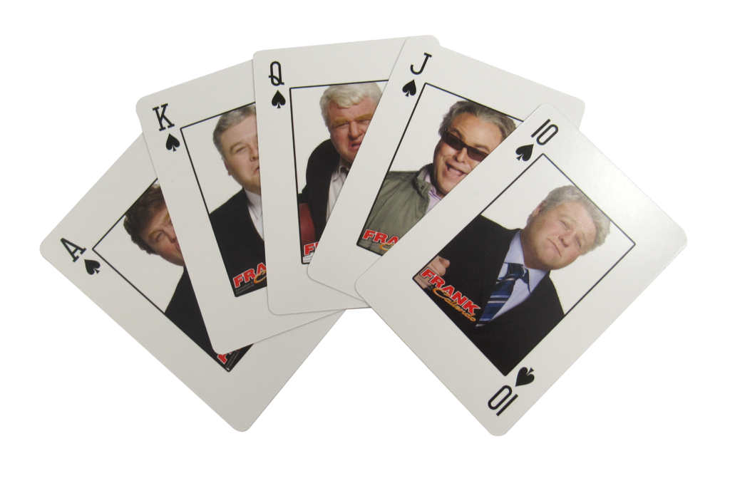 Frank Caliendo Playing Cards