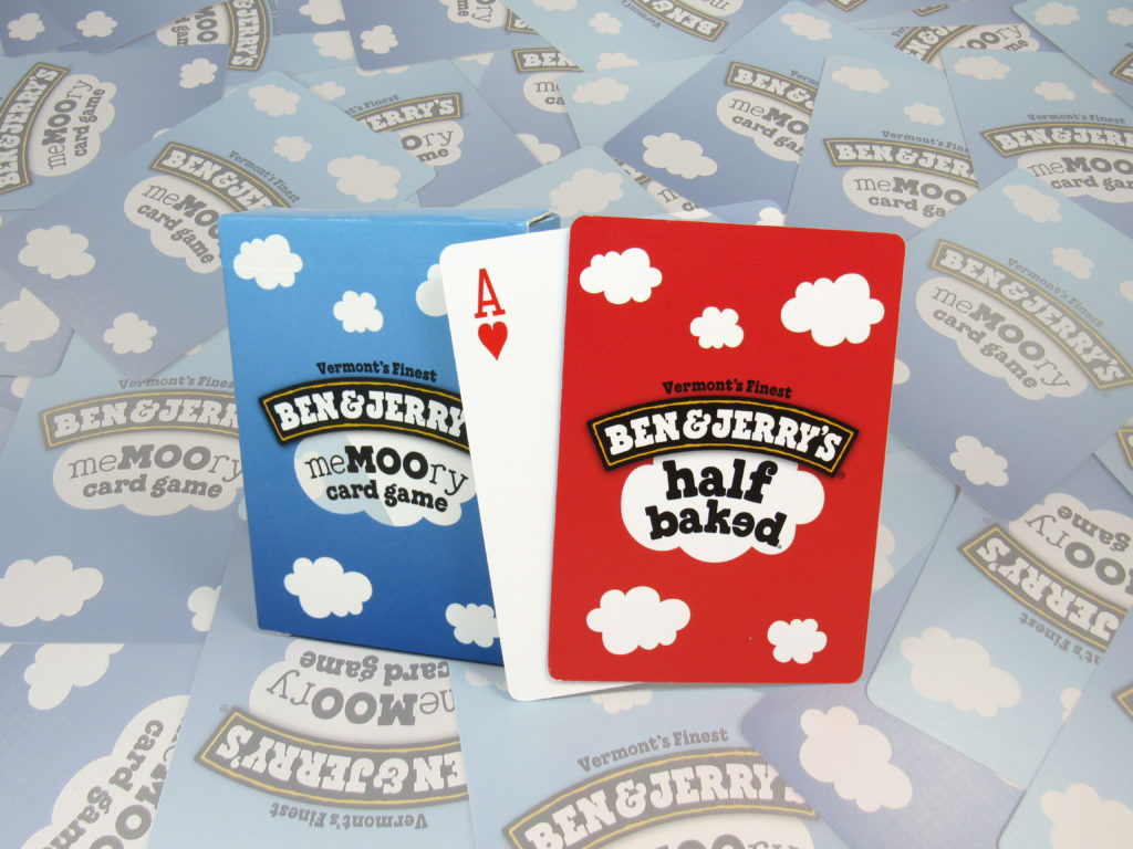 Ben & Jerry's Playing Cards